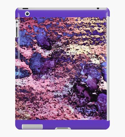 Paw Prints in Purple and Pink iPad Case/Skin