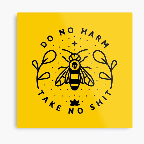 Do No Harm Metal Print