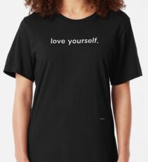 LOVE YOURSELF #4 Slim Fit T-Shirt