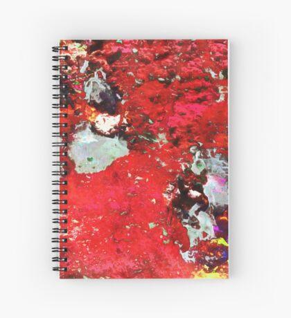 Paw Prints Heart Desire Spiral Notebook