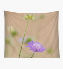 Soft Focus Romantic Flower Art Wall Tapestry
