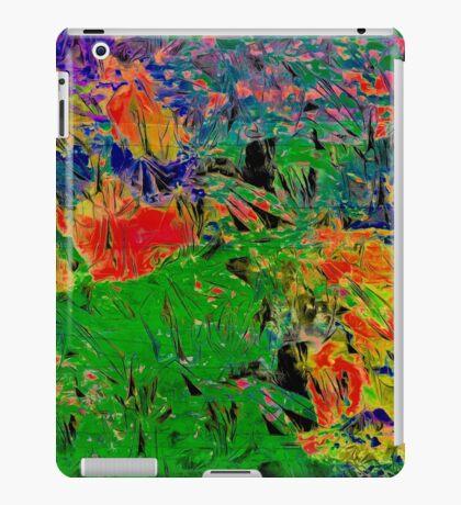 Paw Prints Spring Garden Walks iPad Case/Skin