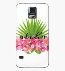 Aloha flowers Case/Skin for Samsung Galaxy