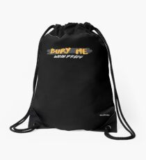 with pride Drawstring Bag