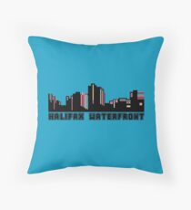 Halifax Waterfront - Nova Scotia Throw Pillow