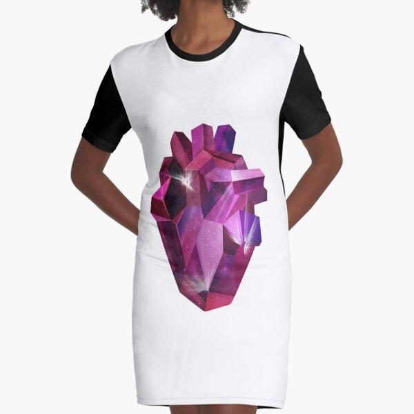Rubi diamond Graphic T-Shirt Dress