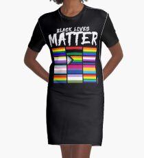 ALL BLM Graphic T-Shirt Dress