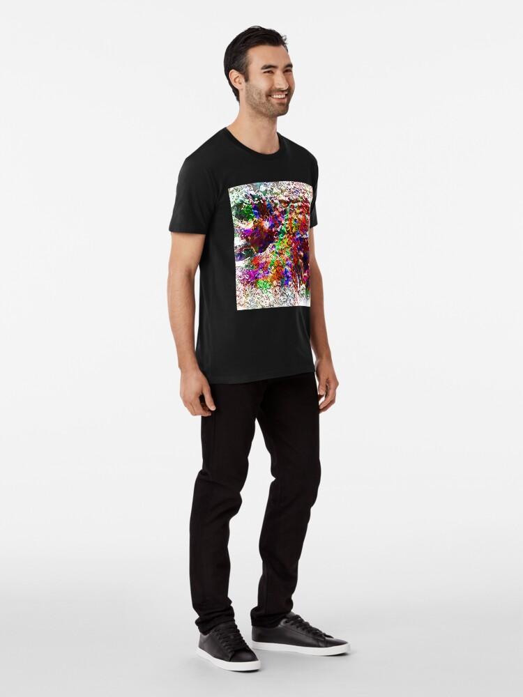 Alternate view of Paw Prints Next Generation 7 Premium T-Shirt