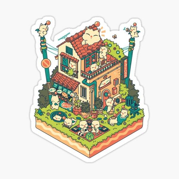 Kupo House Pegatina