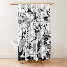 Katsuki Bakugo  Shower Curtain