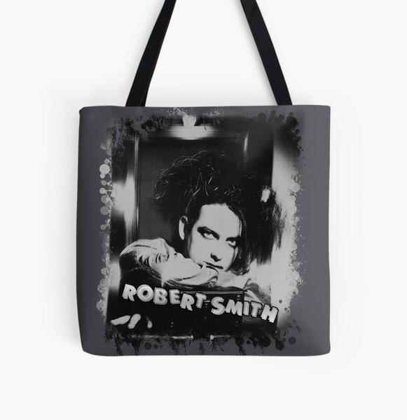 Splatter Grunge Goth Rock Robert Smith All Over Print Tote Bag