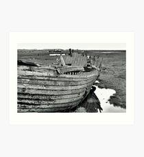 Blakeney Wreck Art Print
