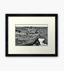 Blakeney Wreck Framed Print