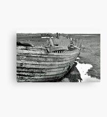 Blakeney Wreck Metal Print