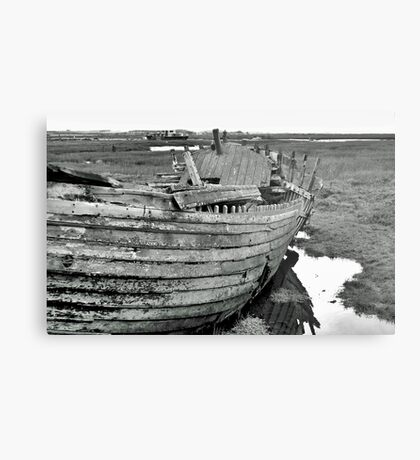 Blakeney Wreck Metal Print
