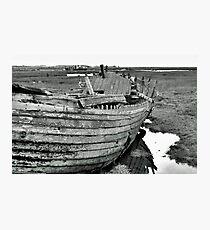 Blakeney Wreck Photographic Print