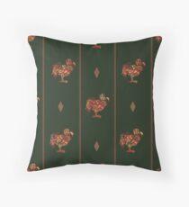 Dodo pattern dark Floor Pillow