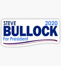 Steve Bullock for President 2020 Sticker