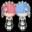 Rem and Ram by ViperSword