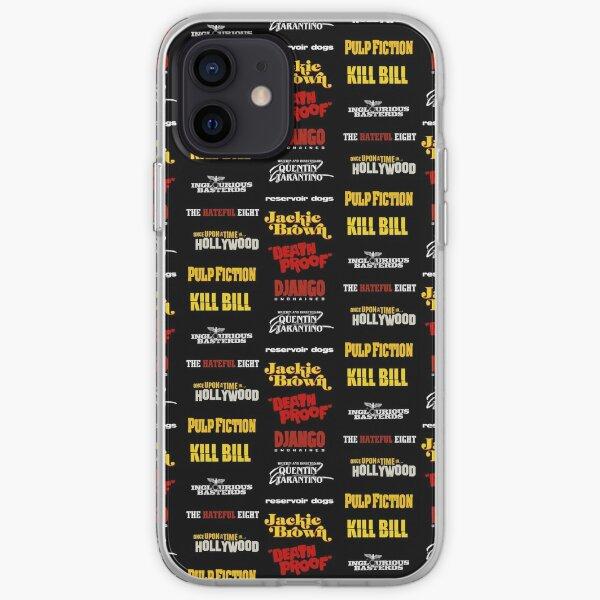 quentin tarantino / filmography iPhone Soft Case