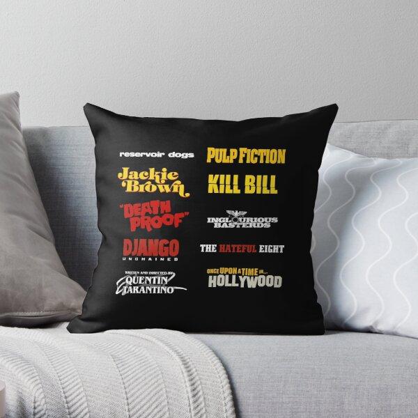 quentin tarantino / filmography Throw Pillow