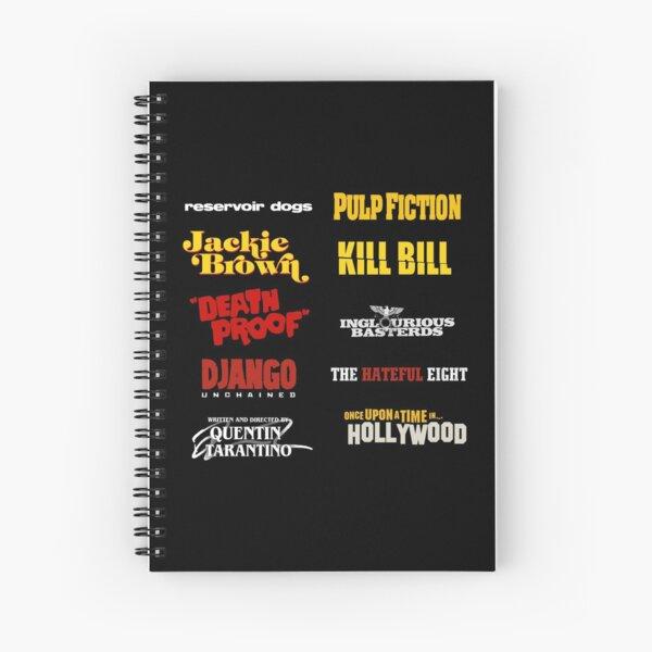 quentin tarantino / filmography Spiral Notebook