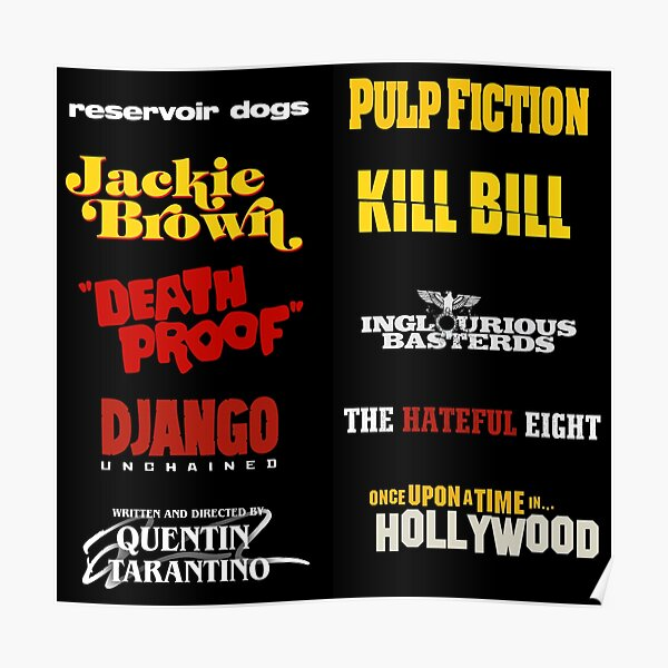 Quentin Tarantino / Filmographie Poster