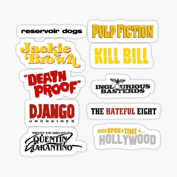 Quentin Tarantino / Filmographie Sticker