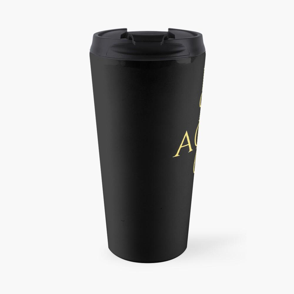 for ALPHAS only ((alternate)) Travel Mug