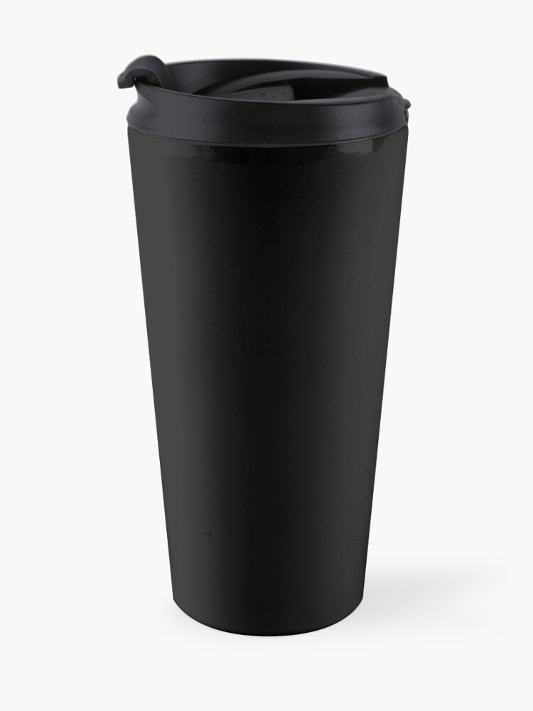 Alternate view of for ALPHAS only ((alternate)) Travel Mug
