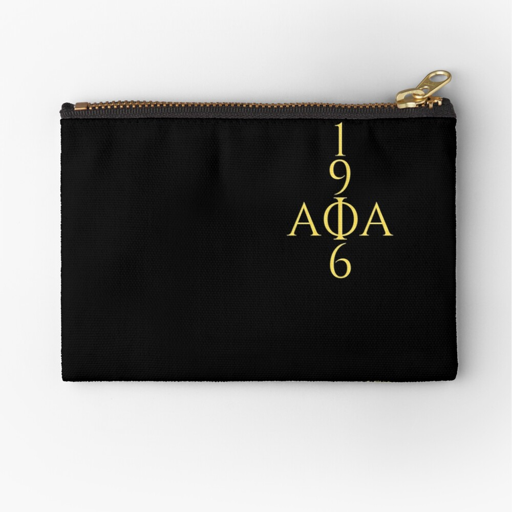 for ALPHAS only ((alternate)) Zipper Pouch