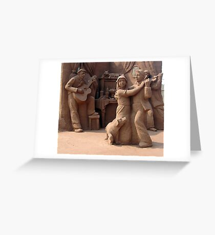 Sandland (3) Greeting Card