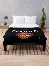 periodt Throw Blanket