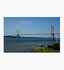 Bridges in Denmark - Little Belt Bridge Photographic Print