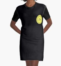 the small logo Graphic T-Shirt Dress