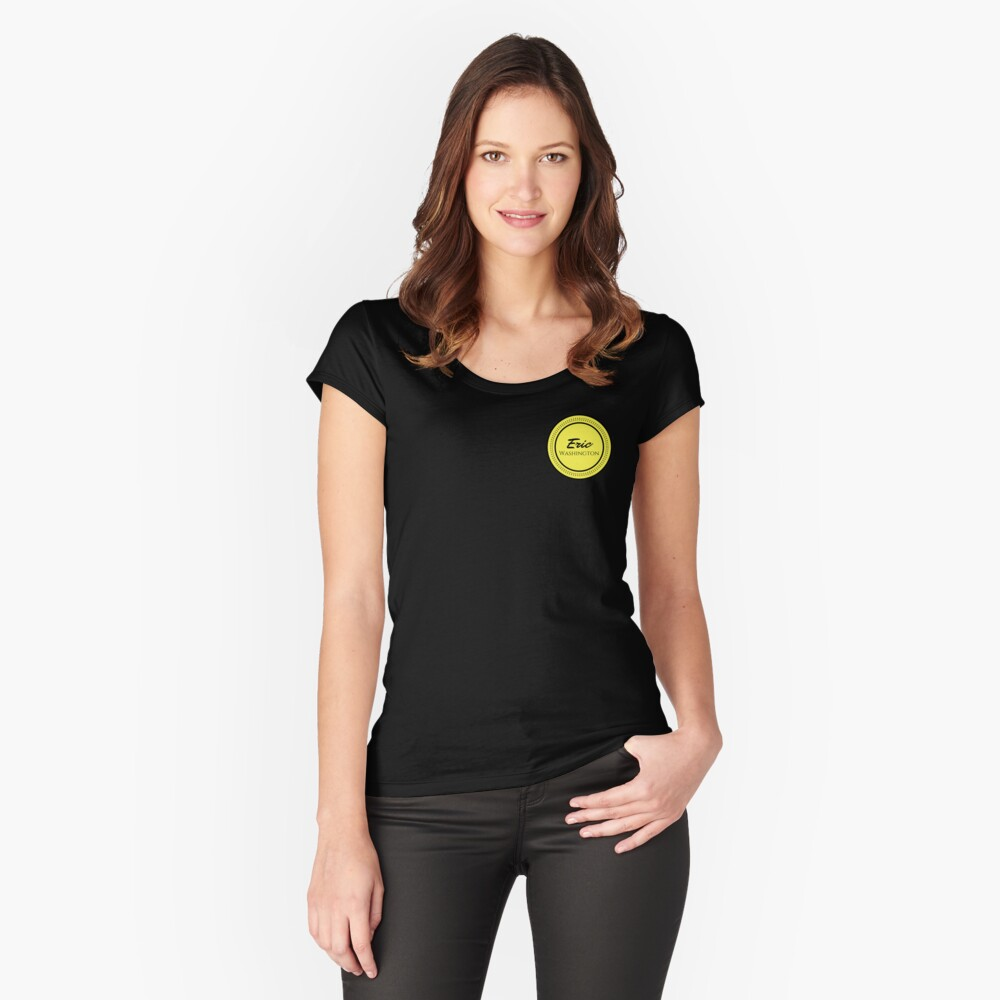 the small logo Fitted Scoop T-Shirt