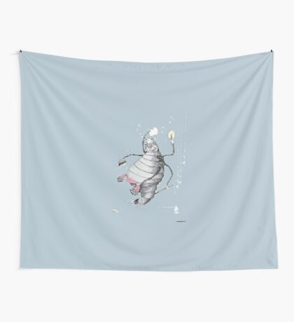 Glow-worm Wall Tapestry