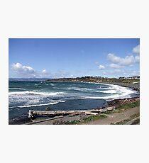 Whitecaps on the Beach Photographic Print