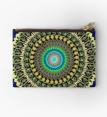 Macaroni and cheese mandala Zipper Pouch