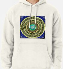 Macaroni and cheese mandala Pullover Hoodie
