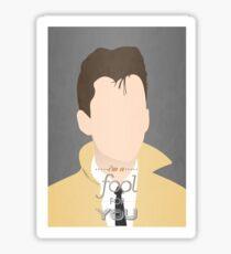 Arctic Monkeys Minimalist Alex Turner Sticker