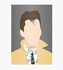 Arctic Monkeys Minimalist Alex Turner Photographic Print