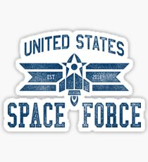 SPACE FORCE! Glossy Sticker