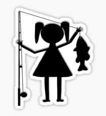 REEL GIRL Sticker