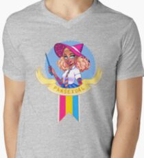 I was sorted into the Pansexual House V-Neck T-Shirt