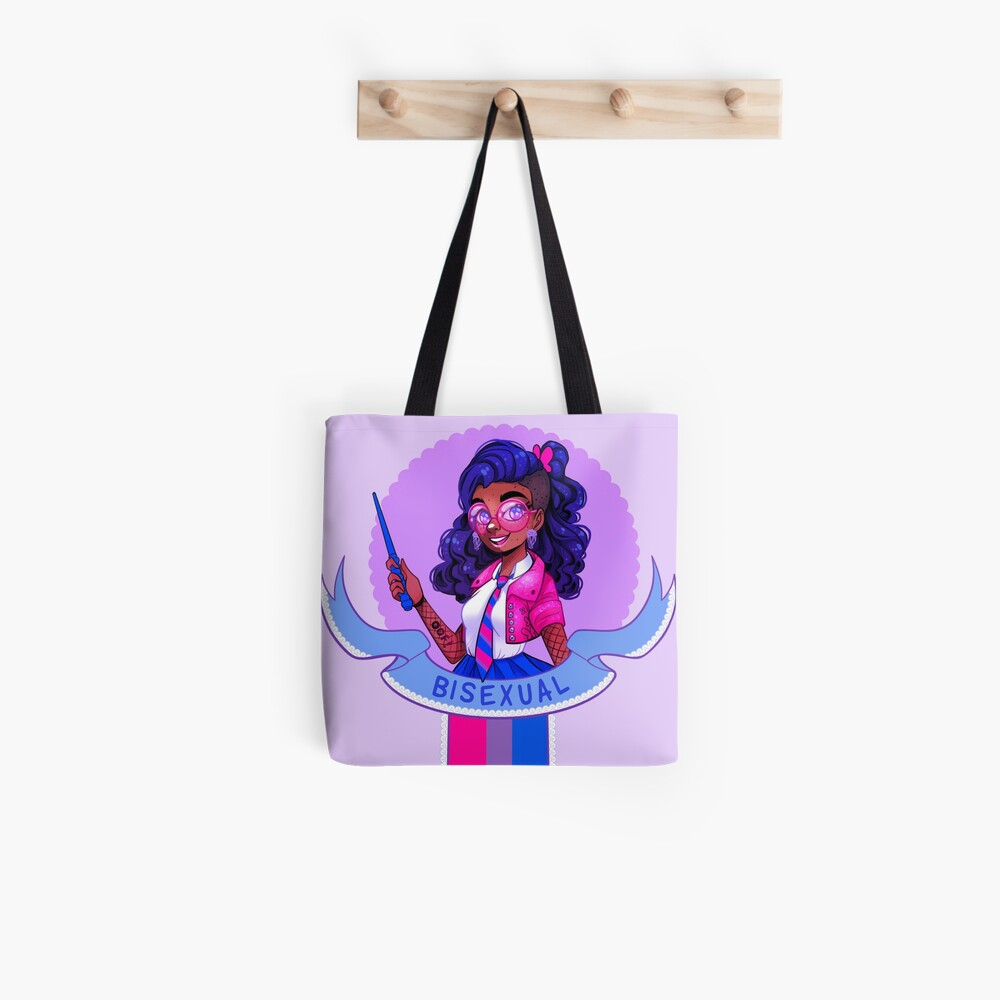 I was sorted into the Bisexual House Tote Bag