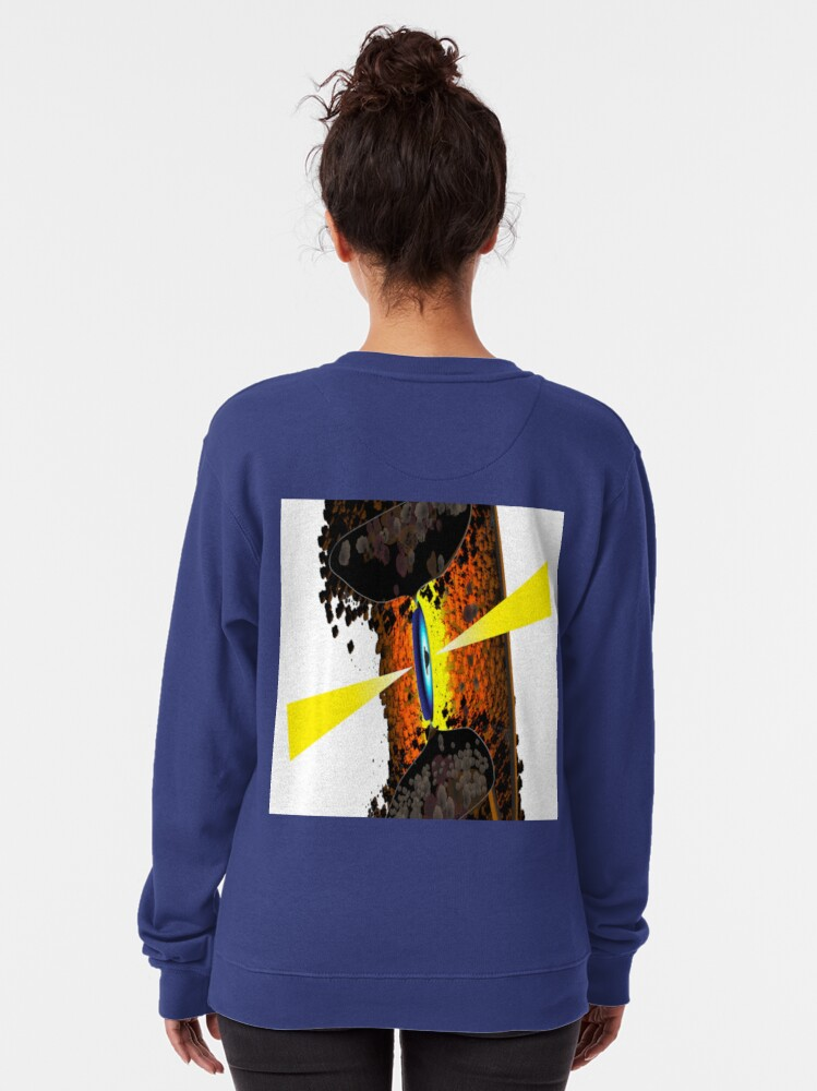 Alternate view of #VLA Makes First Direct #Image of Key Feature of Powerful #Radio #Galaxies Pullover Sweatshirt