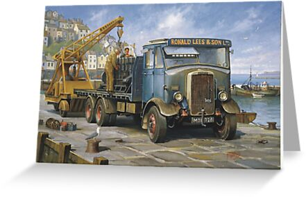 Leyland Hippo at Brixham. by Mike Jeffries