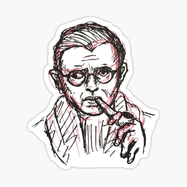 Jean Paul Sartre Sticker