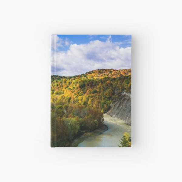 Around the Bend - Letchworth State Park, NY USA Hardcover Journal
